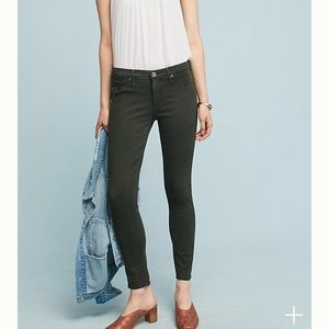 AG The Abbey Ankle - Sateen Mid-rise Super Skinny